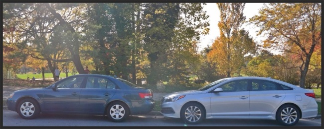 American Road Trip Style 2015 Hyundai Sonata Sport 18